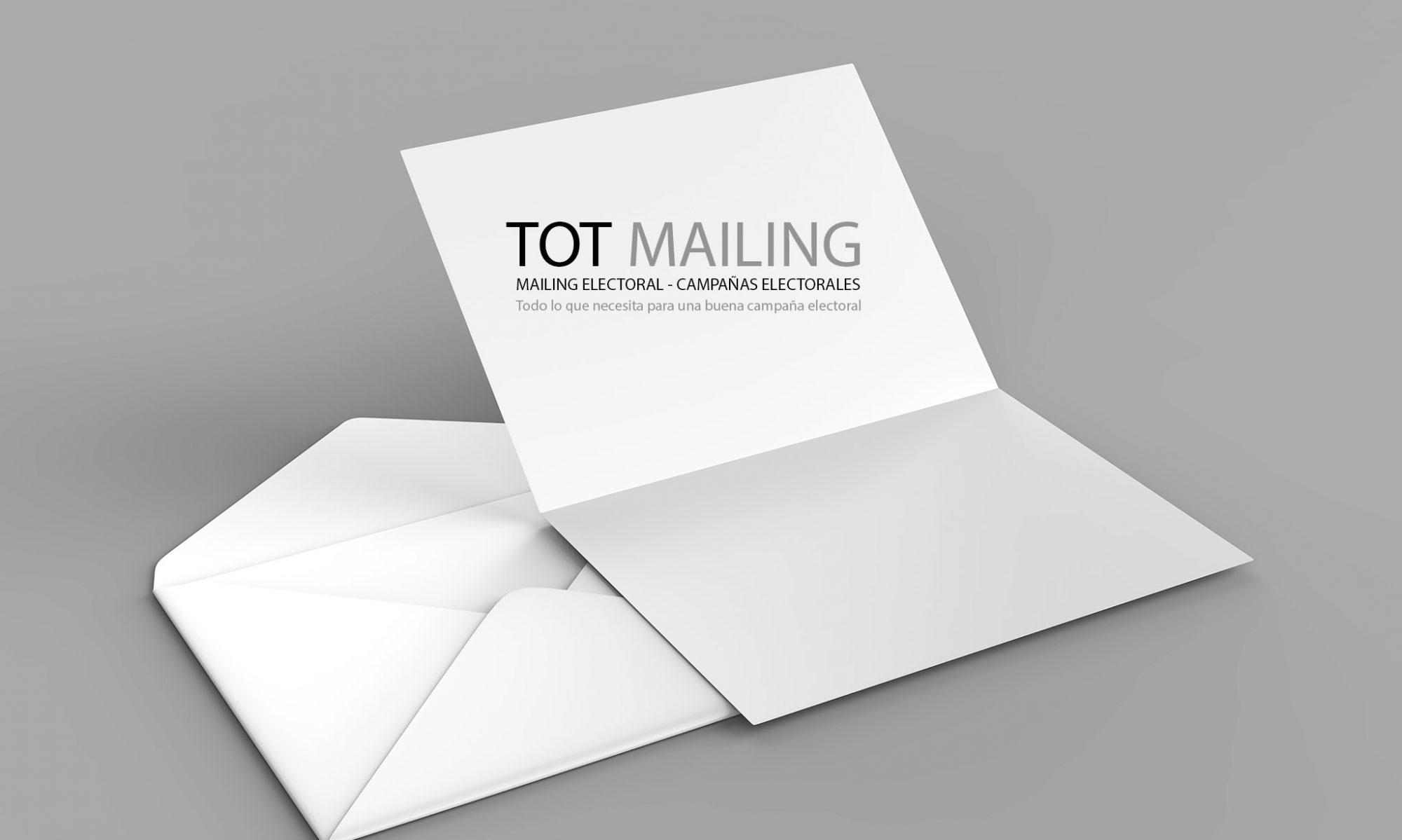 Mailing Electoral - CAMPAÑAS ELECTORALES